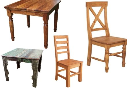 Create Wonderful Interiors by Placing Rustic Furniture